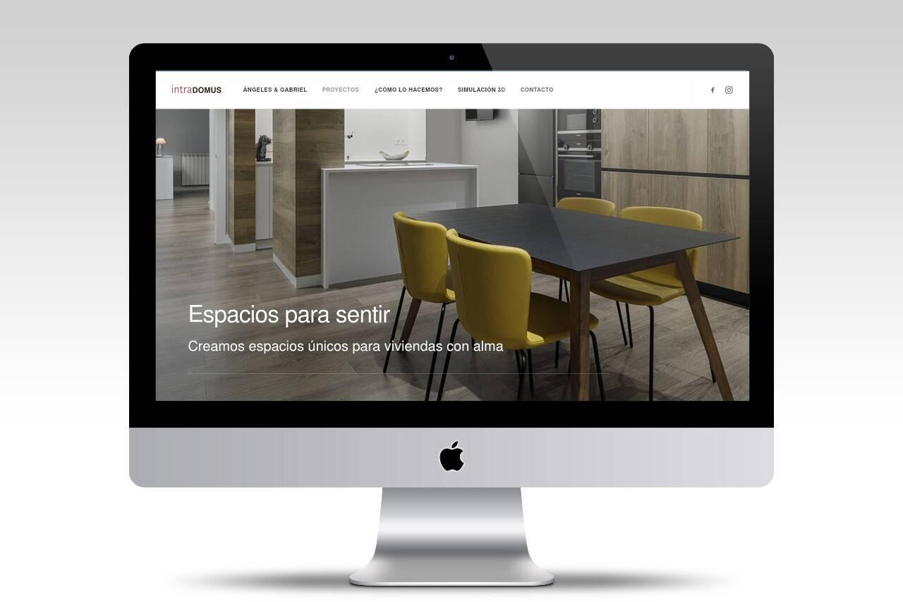 Diseño web para interioristas