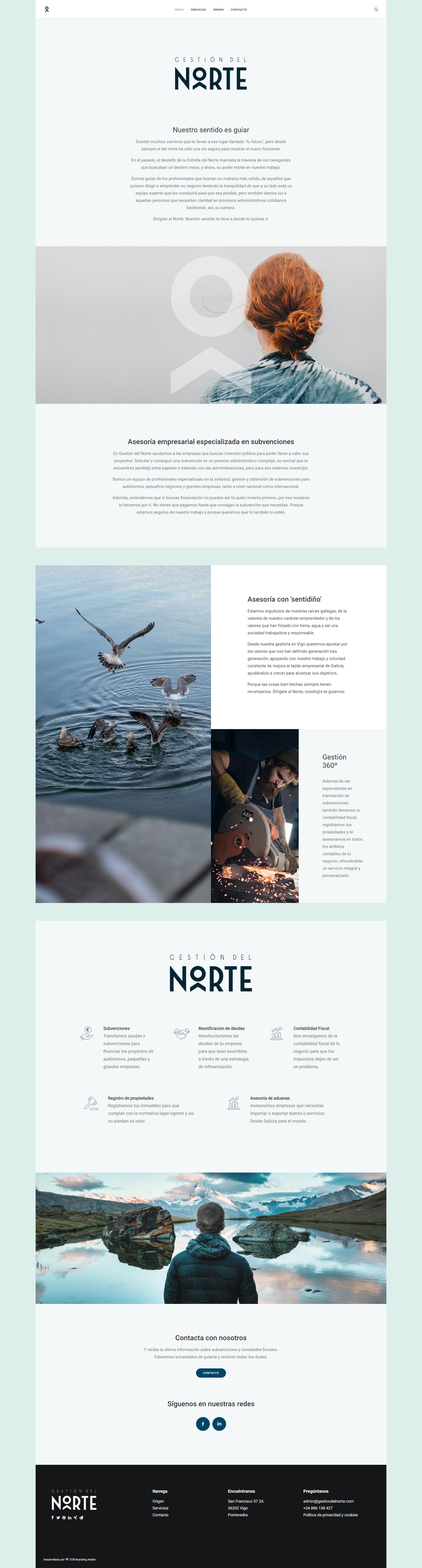 diseño web para asesorias y gestorias