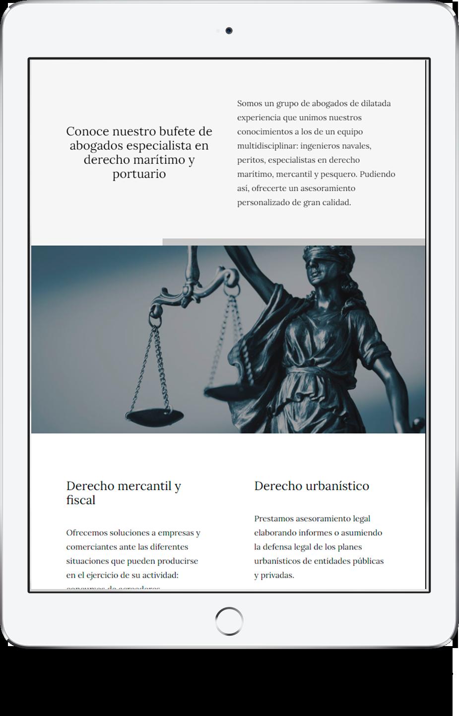 diseño web onepage en vigo y pontevedra