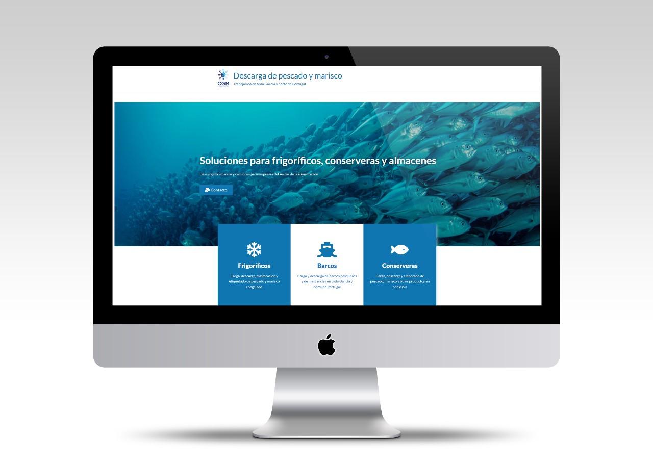 diseño web empresa de descargas